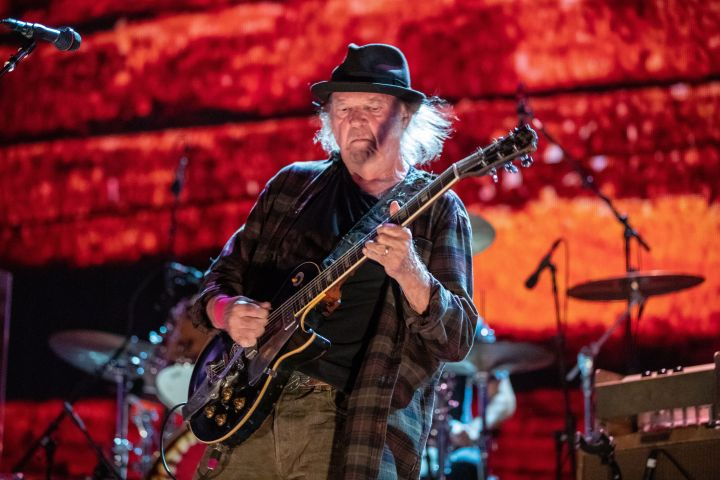 Neil Young - Suzanne Cordeiro/Shutterstock