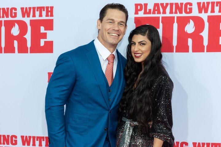 John Cena and Shay Shariatzadeh – MJ Photos/Shutterstock