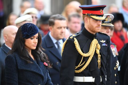 prince harry and meghan markle make surprise visit to military families gathering attend field of remembrance service etcanada com prince harry and meghan markle make