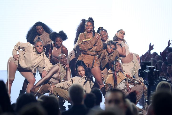 Mandatory Credit: Photo by Chelsea Lauren/Shutterstock (10481442a) Ciara 47th Annual American Music Awards, Show, Microsoft Theater, Los Angeles, USA - 24 Nov 2019