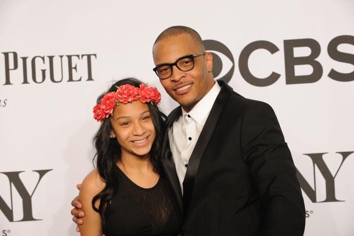 Mandatory Credit: Photo by Shutterstock (3796998t) Deyjah Imani and TI 68th Annual Tony Awards, New York, America - 08 Jun 2014