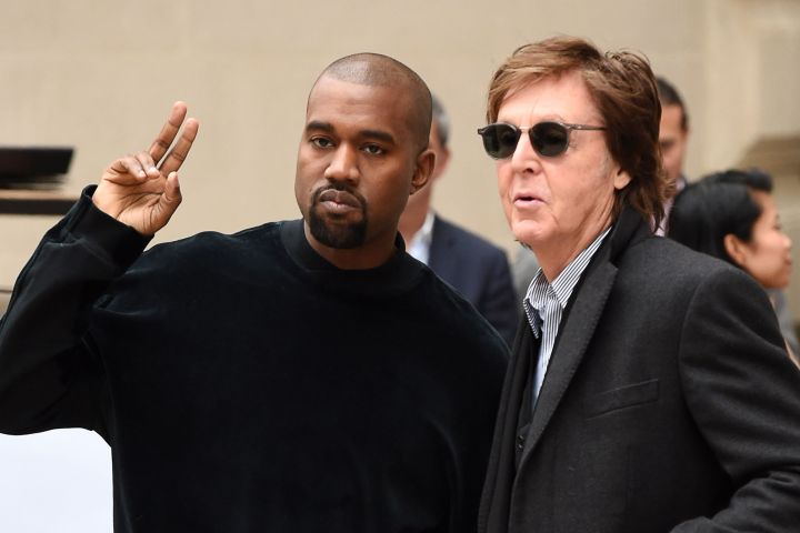 Kanye West and Sir Paul McCartney - David Fisher/Shutterstock
