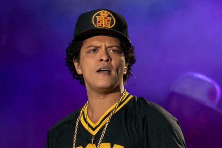 Bruno Mars. Photo: Rmv/Shutterstock