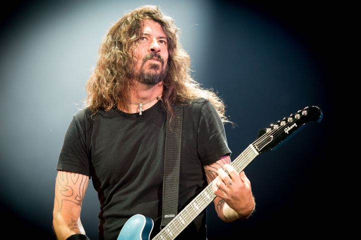 The Foo Fighters - Dave Grohl - SRmv/Shutterstock
