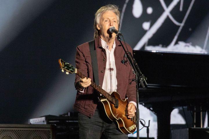 Paul McCartney. Photo: Shutterstock