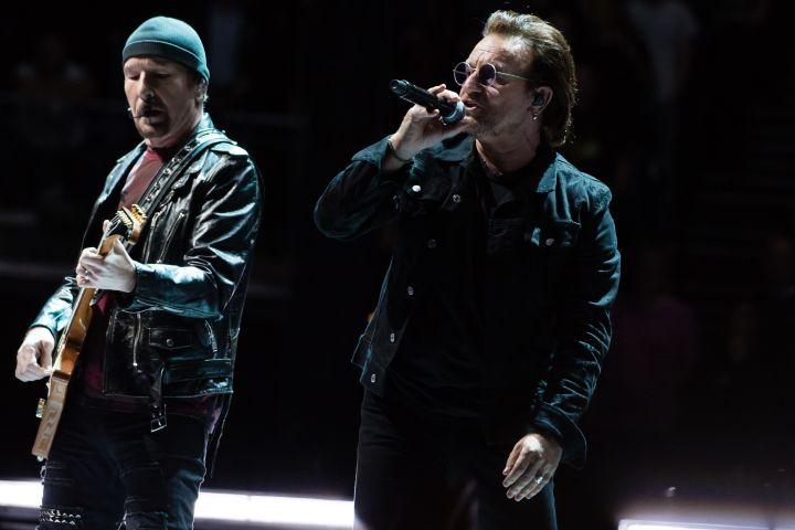 U2 - Richard Isaac/Shutterstock