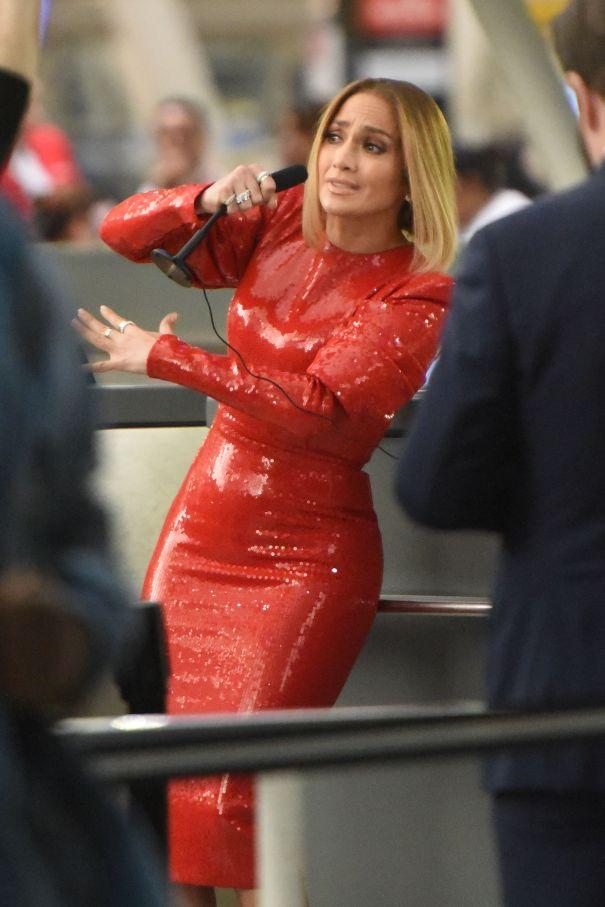 Jennifer Lopez Films 'Marry Me'