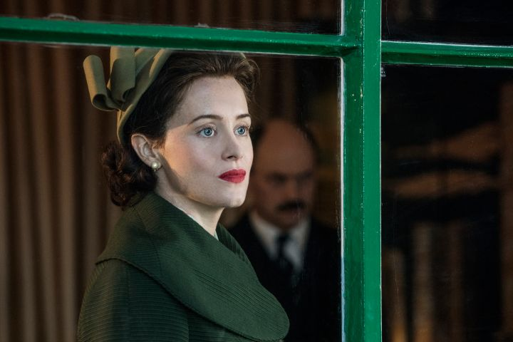 Claire Foy in 'The Crown'. Photo: Stuart Hendry / Netflix