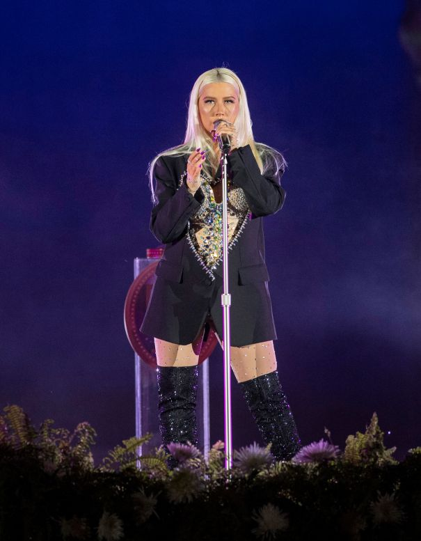 Christina Aguilera Kicks Off WDW's 50th Celebration