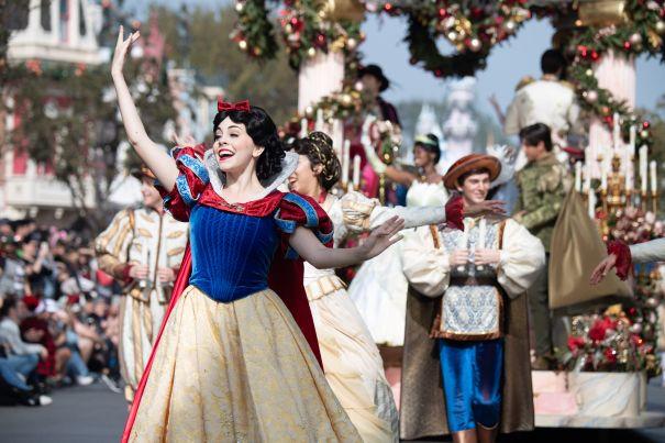 'Disney Parks Magical Christmas Day Parade'