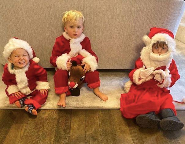 Alec Baldwin's Santa Kids