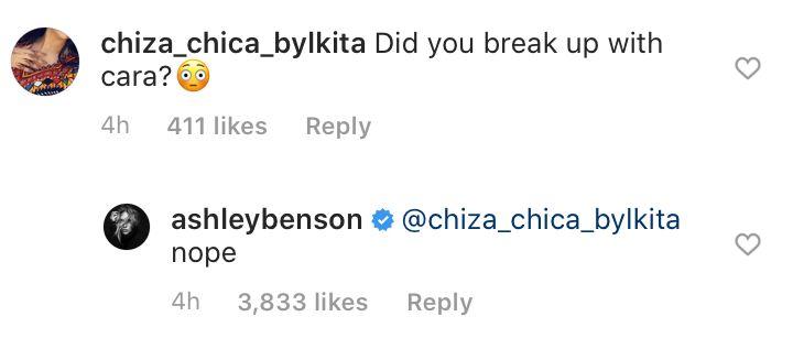 Instagram/@ashleybenson