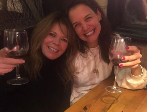 'Dawson's Creek' Katie Holmes, Mary-Margaret Humes Wine And Dine