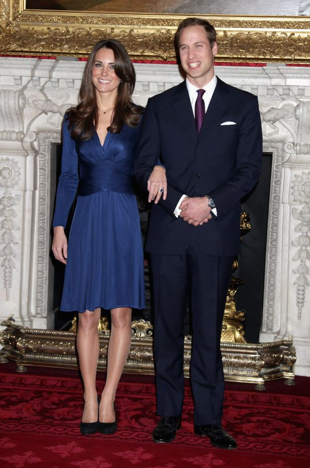 November 2010: Prince William And Kate Middleton Get Engaged