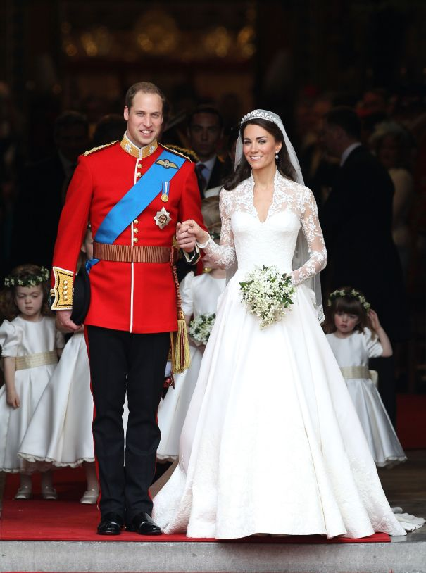 April 2011: Prince William And Kate Middleton Get Married