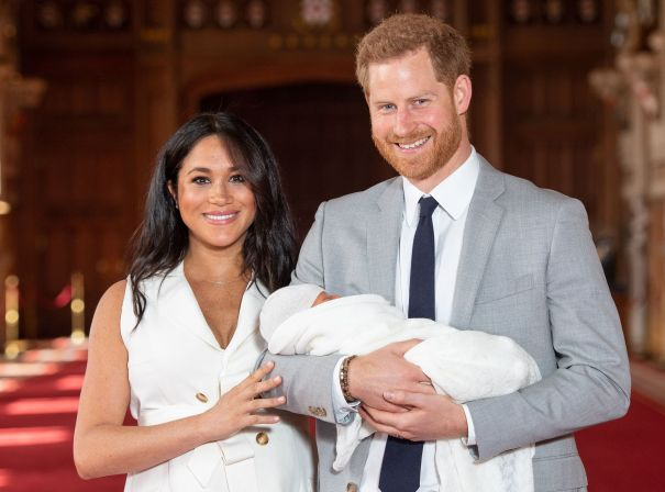 May 2019: Prince Harry And Meghan Markle Welcome Baby Archie