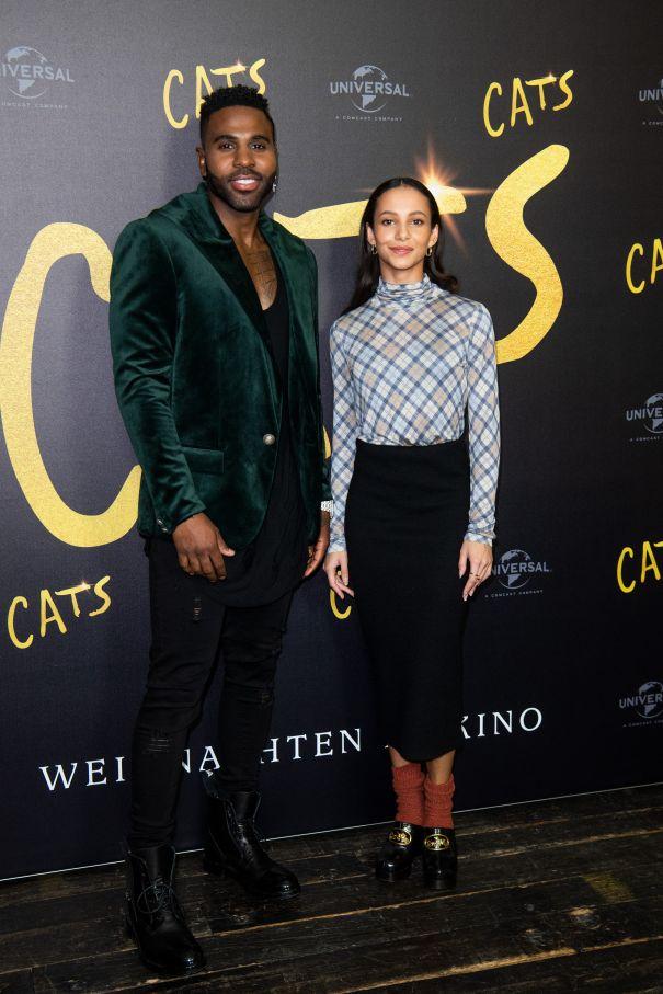 Jason Derulo, Francesca Hayward Step Out For 'Cats'