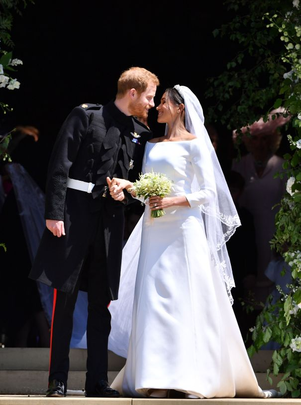 May 2018: Prince Harry And Meghan Markle Get Married