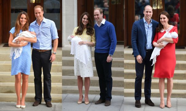 July 2013, May 2015, April 2018: Prince William And Kate Middleton Welcome Prince George, Princess Charlotte & Prince Louis