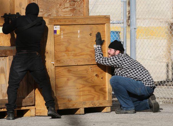 Post Malone Films 'Cash Truck'