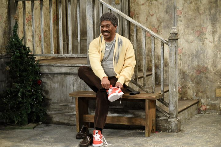 "Eddie Murphy as Mr. Robinson during the ""Mr. Robinson's Neighborhood"" Sketch - Will Heath/NBC"