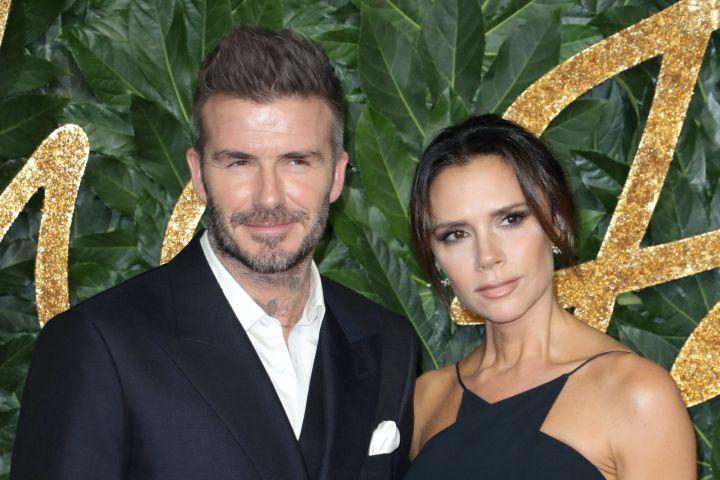 David Beckham and Victoria Beckham. Photo: Matt Baron/Shutterstock