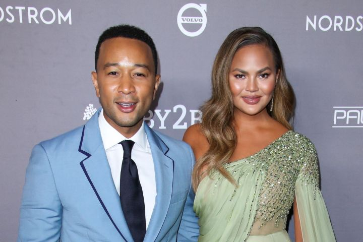 John Legend and Chrissy Teigen. Photo: Matt Baron/Shutterstock