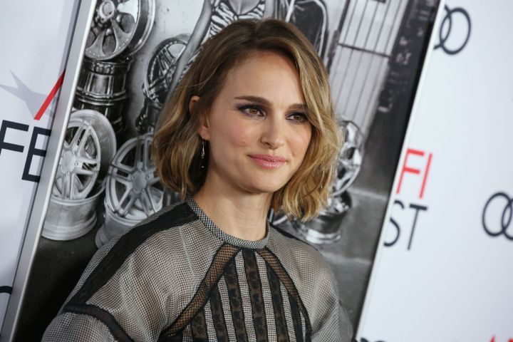 Mandatory Credit: Photo by Matt Baron/Shutterstock (10475770gi) Natalie Portman 'Queen and Slim' film premiere, Arrivals, AFI Fest, Los Angeles, USA - 14 Nov 2019