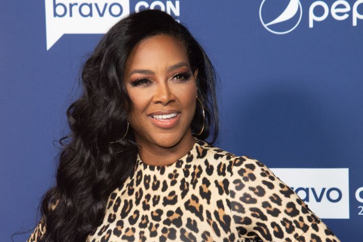 Mandatory Credit: Photo by MJ Photos/Shutterstock (10476583bz) Kenya Moore 'Watch What Happens Live with Andy Cohen' TV show, BravoCon, Arrivals, New York, USA - 15 Nov 2019