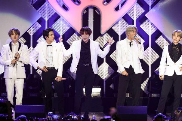 BTS Wows At The Jingle Ball
