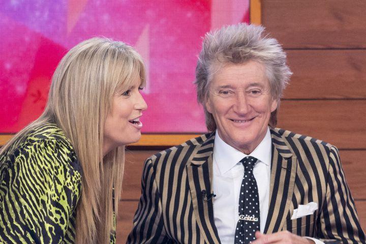 Penny Lancaster and Rod Stewart. Photo: Ken McKay/ITV/Shutterstock