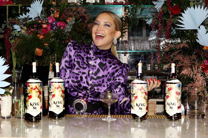 Mandatory Credit: Photo by Dave Allocca/StarPix/Shutterstock (10495789i) Kate Hudson Kate Hudson hosts intimate cocktail hour on behalf of her new vodka brand, King St, New York, USA - 09 Dec 2019