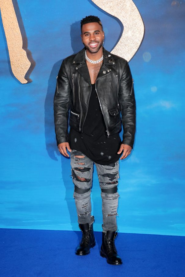 Jason Derulo Steps Out For 'Cats'