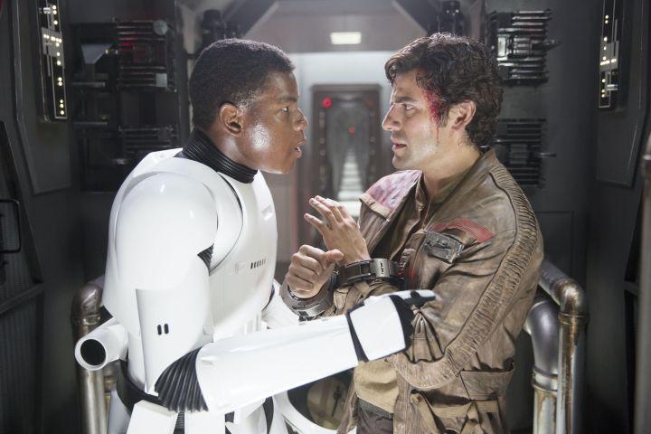 John Boyega and Oscar Isaac. Photo: Lucasfilm/Bad Robot/Walt Disney Studios/Kobal/Shutterstock