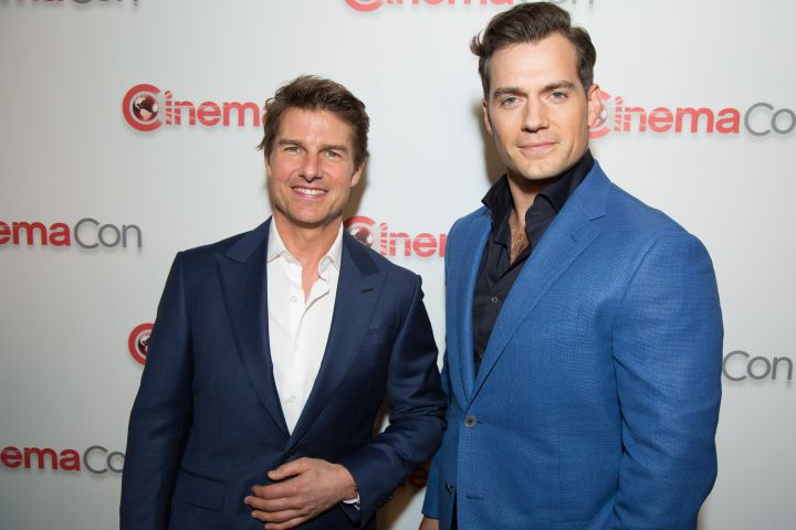 Tom Cruise - Henry Cavill - Berliner Alex J/Action Press/Shutterstock