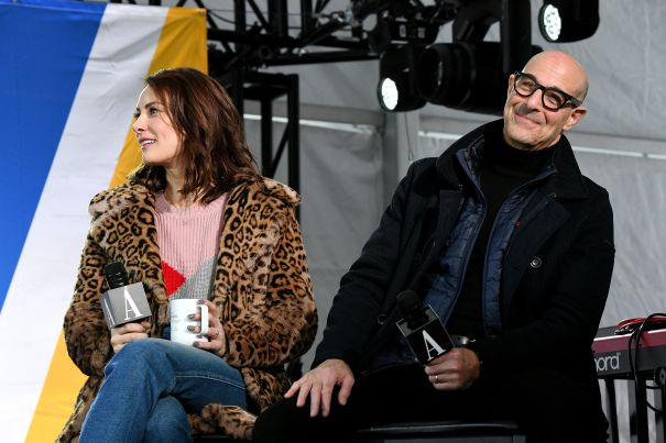 Laura Benanti And Stanley Tucci