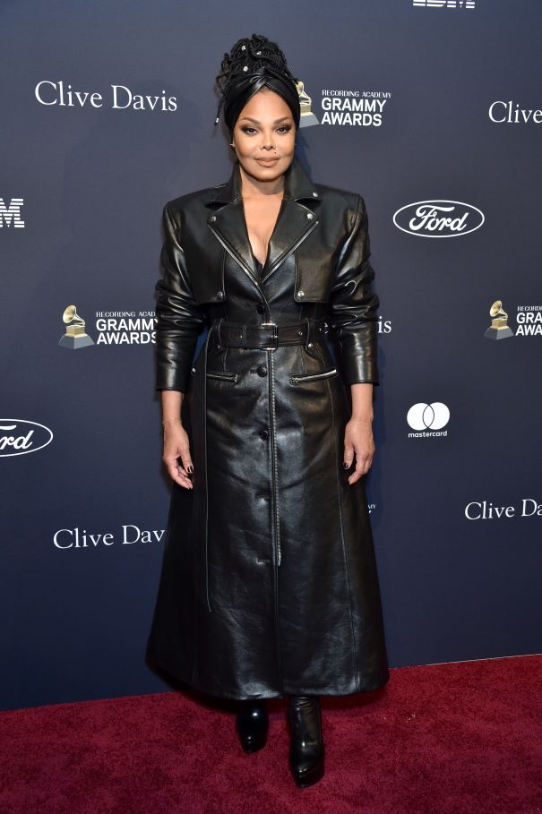 Janet Jackson At Salute To Sean 'Diddy' Combs