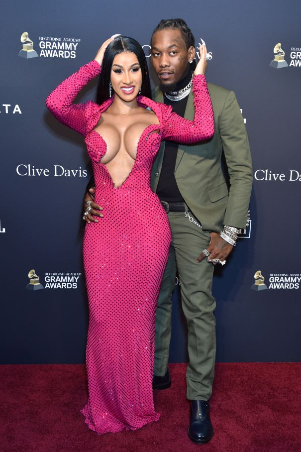 Cardi B And Offset Hit The Red Carpet