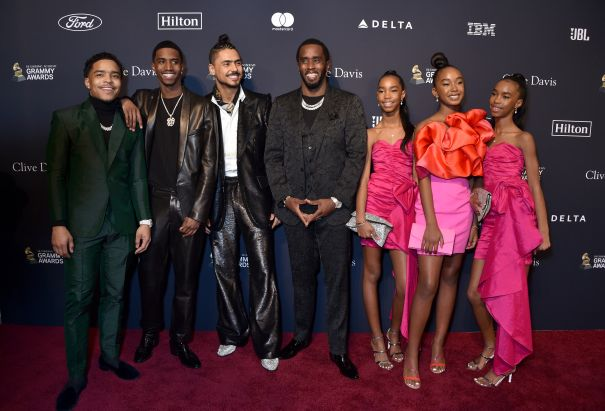 Sean 'Diddy' Combs Honoured At Pre-Grammy Gala