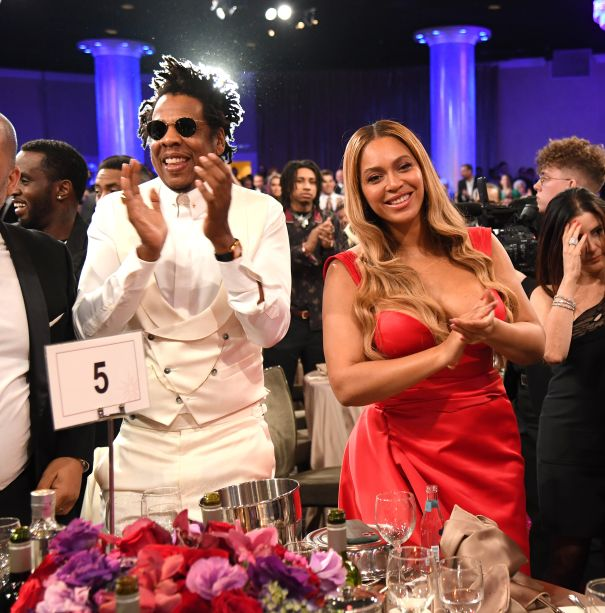 Beyonce And Jay-Z Applaud Diddy
