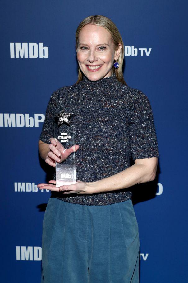 Amy Ryan Received The IMDb 'Fan Favorite' STARmeter Award