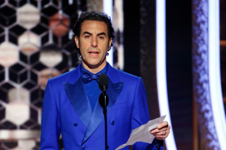Sacha Baron Cohen. Photo: Paul Drinkwater/NBC Universal/Handout via REUTERS