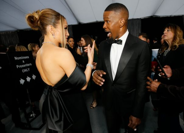 J.Lo and Jamie Foxx Reunite