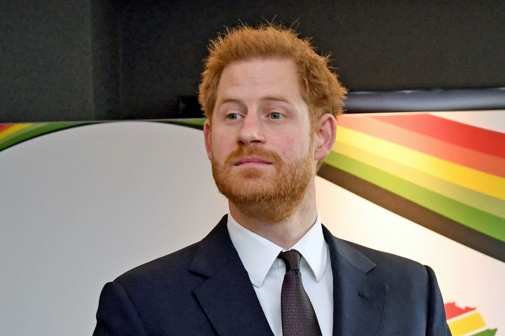 Prince Harry. Photo: Stefan Rousseau/Pool via REUTERS