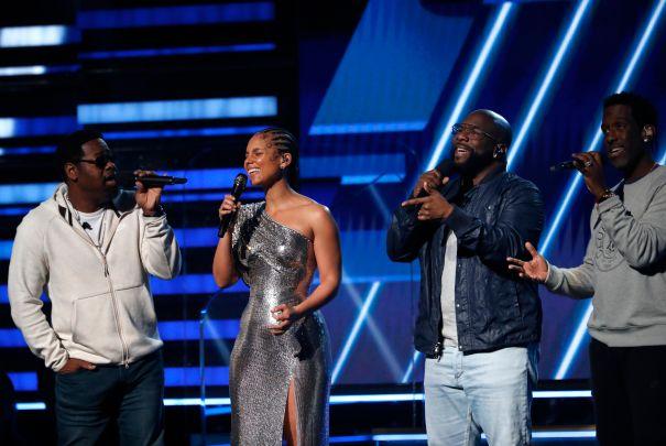 Alicia Keys And Boyz II Men Pay Tribute To Kobe Bryant