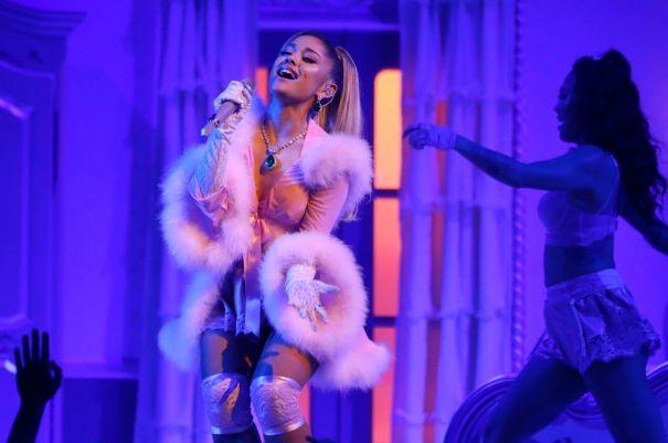 Ariana Grande Rides High