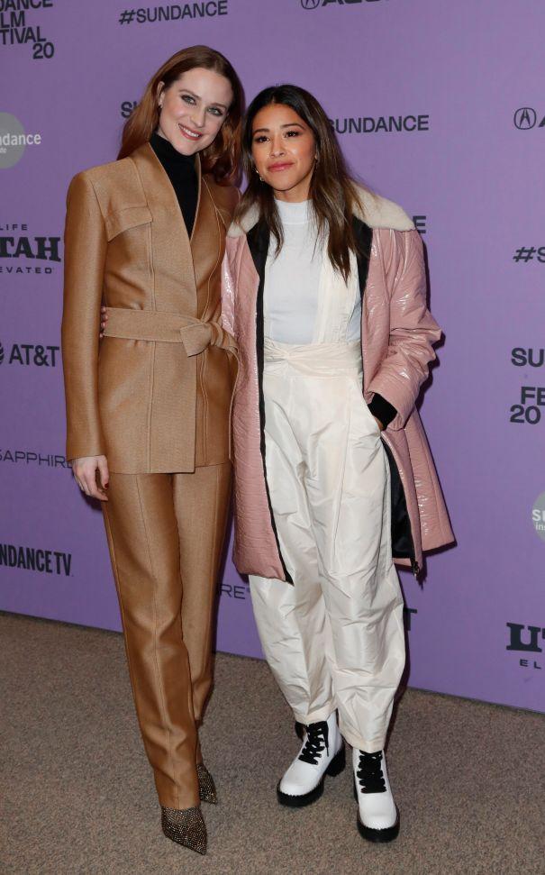 Evan Rachel Wood And Gina Rodriguez