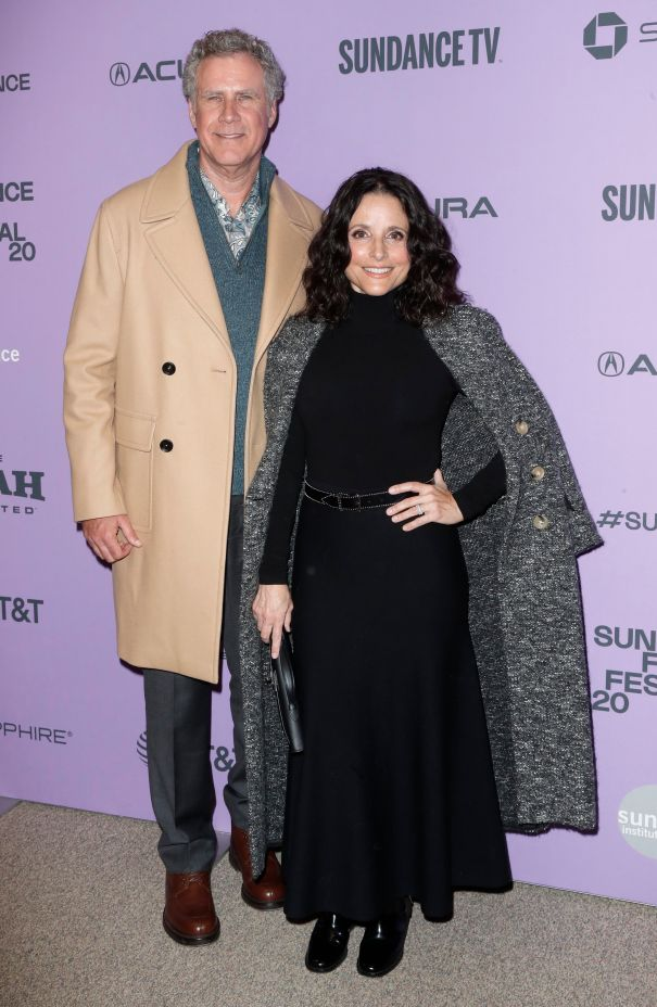 Will Ferrell And Julia Louis-Dreyfus Strike A Pose