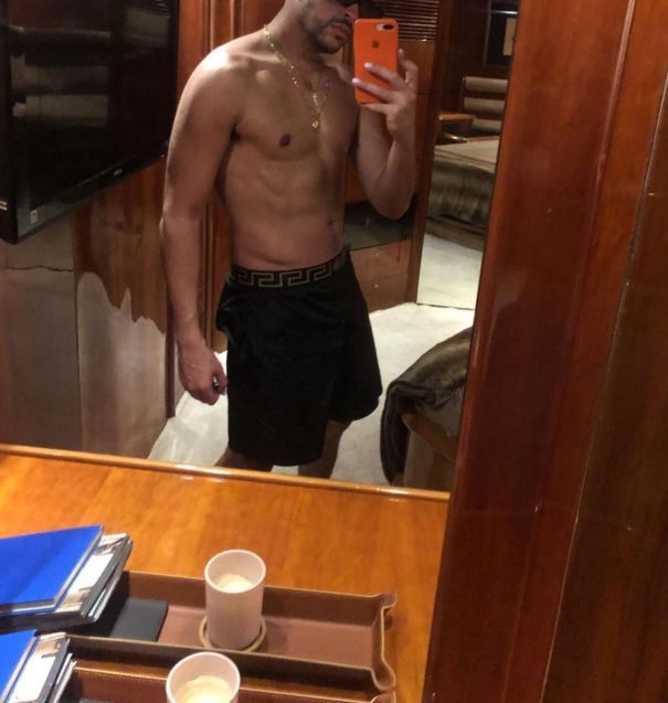 Bad Bunny Shows Off Shredded Abs