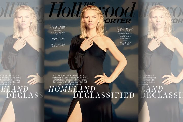 Claire Danes. Photo: David Needleman for The Hollywood Reporter